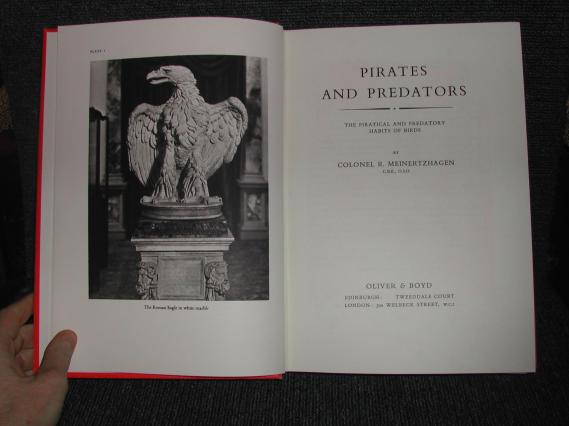 Title page of Pirates and Predators