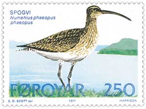 Faroe_stamp_024_whimbrel